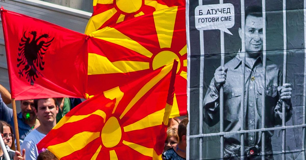 Makedonien: Nikola Gruevski går af
