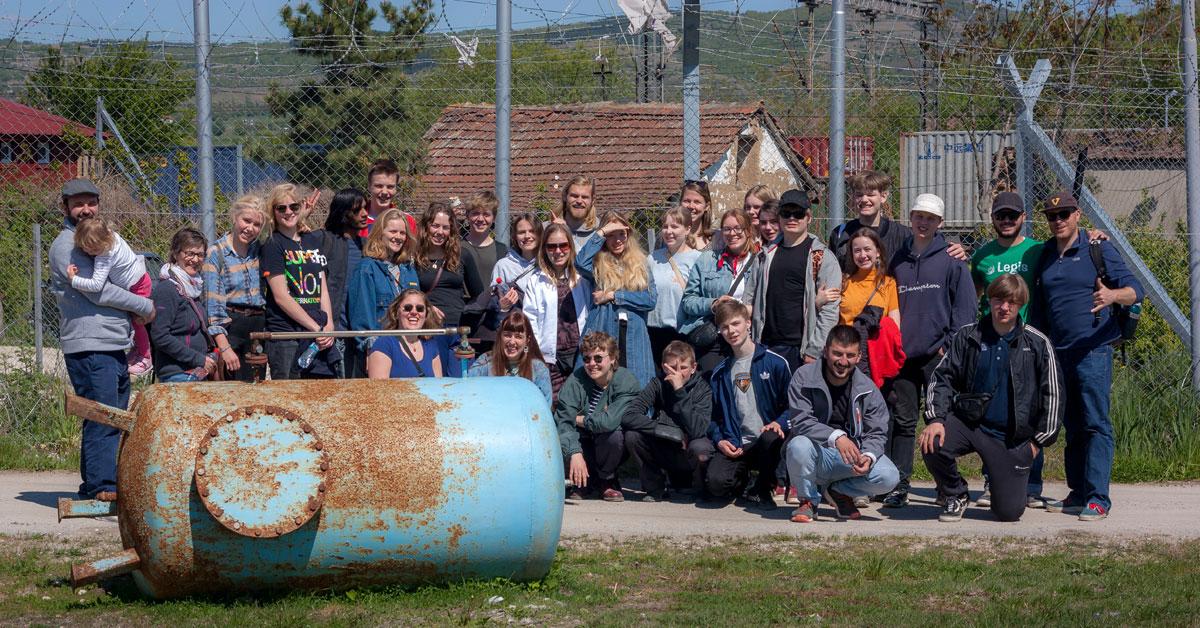Flakkebjerg på Balkanruten