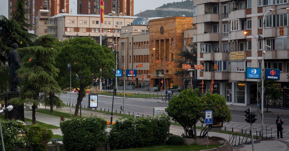 Dagbogsblade fra en uge i Makedonien